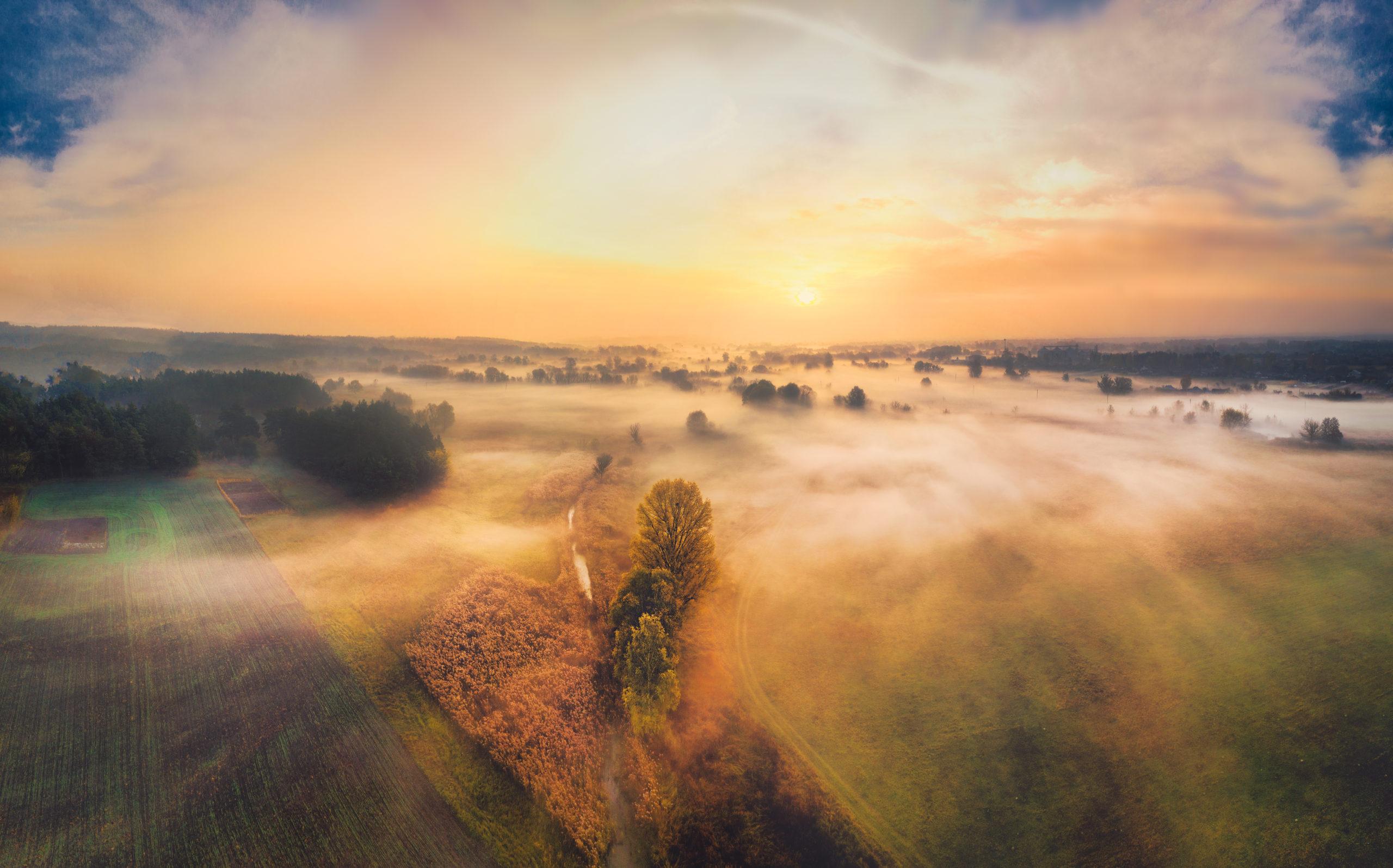 Vous devez devenir comme ce paysage, calme, serein et optimiste!